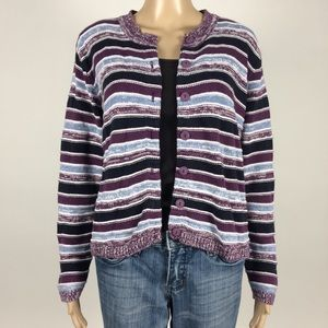 Christopher & Banks Knit Button Down Cardigan